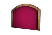 Trinity Veneer Border Wood Headboard | Email for Pricing